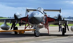 I am the one and only (crusader752) Tags: rn rnht fleetairarm dehavilland hawkersiddeley hs dh xp924e134 rnasyeovilton airday 2016 jet jetfighter aircraft fighterjet fighter