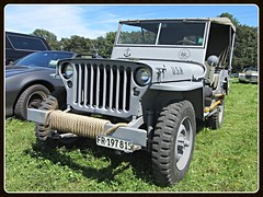 Willys MB, 1942 (v8dub) Tags: willys mb 1942 4x4 gelndewagen army arme militaire military militr schweiz suisse switzerland fribourg freiburg american pkw voiture car wagen worldcars auto automobile automotive old oldtimer oldcar klassik classic collector jeep