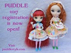 PUDDLE registration is open! (TrueFan) Tags: pullipanddaldollloversevent puddle teaparty 2017 registration dal sooni pullip saras masalachai