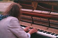 .music is like a dream. (Camila Guerreiro) Tags: film expiredfilm analog leicar4 piano konica centuria 100 expired 35mm leica grain pianist camilaguerreiro kiev ukraine