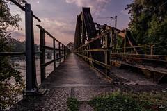 Eisenbahnbrücke über die Aare