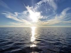 The sun melts in the Waddensea (Alta alatis patent) Tags: waddensea sun melting serene pieterburenwad