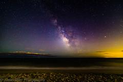 Milky Way from the Beach (UrbanAstroNYC) Tags: 14mm 6d canon longisland milkyway robertmoses rokinon astronomy astrophotography beach boardwalk galaxy space universe awe wonder night sky stars starry