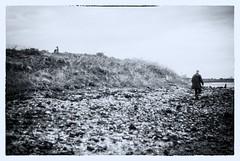 Wasteland (lilyshot) Tags: coast v2 fujicav2 film ilford grain essex