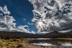 September 9, 2016 - The descending sun at Brainard Lake. (Tony's Takes)