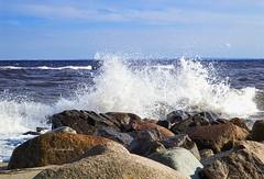 splash.ocean.spray #002 (C.Kalk DigitaLPhotoS) Tags: brandung welle wave sea meer ostsee surge seaspray felsen rocks grmitz germany