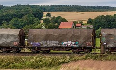 2998_2016_07_16_Haunetal_Neukirchen_DB_145_035_&_145_051_mit_gem_Gterzug_Bad_Hersfeld (ruhrpott.sprinter) Tags: ruhrpott sprinter deutschland germany nrw ruhrgebiet gelsenkirchen lokomotive locomotives eisenbahn railroad zug train rail reisezug passenger gter cargo freight fret diesel ellok hessen haunetal boxxboxxpress db egp ell hhla hsl hvle lbllocon metrans mrcedispolokdispo bb railpoolrpool rbh rhc schweerbau sbbc txltxlogistik wienerlokalbahnencargo 143 145 152 182 185 193 218 270 428 650 1264 1266 421 es64u2 es64f4 greencargo ice r5 outdoor logo natur sonnenaufgang graffiti rinder