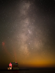 Milkyway at f1.2 (MacDonald_Photo) Tags: jamieamacdonald olympus omd penf 43 mft microfourthirds trailblazer olympustrailblazer httpwwwjmacdonaldphotocom zuiko zd olympuspenf olympuspen mzuiko25mmf12pro 25mmf12 25mmpro milkyway stars astrophotography grandhaven lighthouse puremichigan