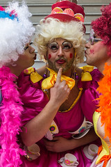 Ooooh! (Joshua Maguire Photography) Tags: bridgwater somerset people dress up wicket dame strange costume wicked male carnival sisters pantomine
