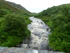 P1070607 (arthur_heywood) Tags: river flood dramatic cape wrath summer scotland fishing salmon