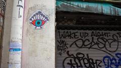 The Eye (ur.bes) Tags: street urban paris eye art collage wall work canon painting poster eos graffiti artwork mural paint tag murals style tags dessin spray oeil peinture 600 walls lettering draw graff aerosol urbain urbaine lettrage 600d urbanarte