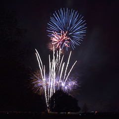 Fireworks (image 2 of 3) (Full Moon Images) Tags: hall display nt firework national trust 2014 wimpole