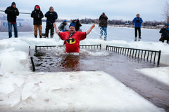 The Incredibles (Perry McKenna) Tags: ice water frozen cancer day1 theincredibles heroes fundraiser ottawariver cheo day1365 polarbearchallenge 365the2015edition 3652015 cardiacshock 1jan15
