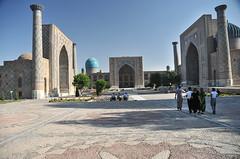 Tillya Kori Moschee Samarkand IV