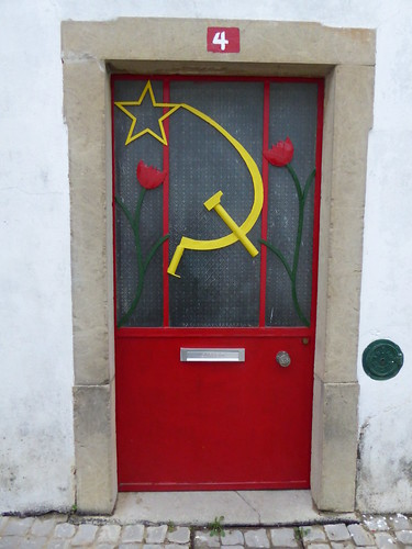 Communist Party doorway