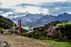Taminabrcke at October (smART.photography) Tags: bridge mountains work brcke bau erni bauarbeiten tamina bauarbeiter valens pffers bogenbrcke letsdoit brckenbau strabag taminatal taminabrcke lehrgerstbau