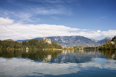 Bled (icelandicphoto) Tags: travel autumn lake water beautiful landscape photography slovenia bled