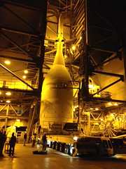 Orion Prepped for Hoist