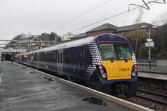 334014 Springburn, near Glasgow (Paul Emma) Tags: uk railroad train scotland glasgow railway scotrail emu electrictrain springburn electricmultipleunit class320 class314 334014 320310