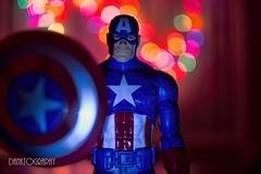 (Danktograhphy) Tags: macro comics toys bokeh actionfigures hero dccomics marvel captainamerica marvelcomics avengers nikkor2885mm