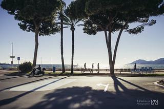 Autumn Croisette / Cannes or nice shadows