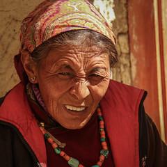 Likir, chez les potiers (vio trieves) Tags: portraits ladakh likir