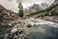 River Swat in Kalam Pakistan (saleem shahid) Tags: