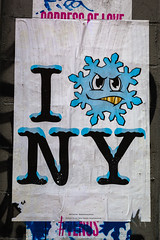 Cold (justingreen19) Tags: snowflake nyc newyorkcity winter urban usa snow streetart ny newyork abstract cold weather brooklyn america poster buffalo frost unitedstates manhattan streetphotography frosty billboard font snowing publicart lettering coldweather posterart typeface urbanabstract newyorksnow newyorkweather justingreen19 justingreenphotography