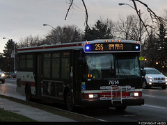 Toronto Transit Commission #7614 (vb5215's Transportation Gallery) Tags: ttc toronto transit commission 2005 orion vii