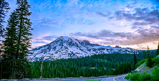 Mount Rainier Morning