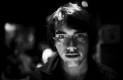 A' (Max Sat) Tags: leica venice portrait bw film night analog f14 nb ilfordhp5 r venise venezia nuit summilux r5 leitz a leicar5 maxsat summiluxr5014 maxwellsaturnin