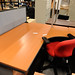 16x12 desk with pedestal E180