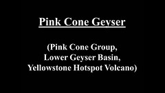 Pink Cone Geyser (13 July 2014 & 12 August 2014) (HD) (James St. John) Tags: pink hot volcano spring cone group basin springs yellowstone wyoming geology lower geyser eruptions erupt eruption hotspot erupting geysers