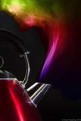 Hot kettle (AlexR!) Tags: warmth steam kettle heat