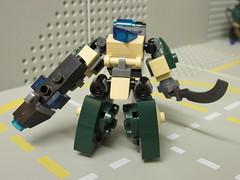 Hellhounds, Delta (color scheme test) (Foghammer) Tags: mobile frame mecha hardsuit mfz
