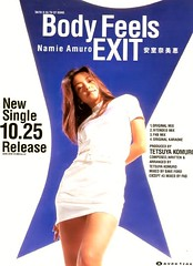 1995.10.25 - Body Feels EXIT_promo-01 (Namie Amuro Live ) Tags: poster namie amuro cover promotional singlecover  bodyfeelsexit