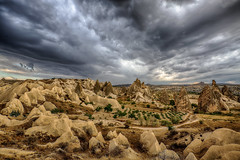 Lunar Landscape - Explored (Achim Thomae) Tags: clouds turkey türkei unescoworldheritage achim kappadokien cappadokia goereme thomae achimthomae