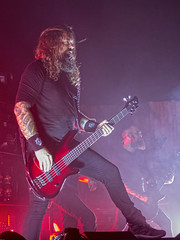 In Flames (Stephen J Pollard (Loud Music Lover of Nature)) Tags: livemusic bassist concertphotography guitarist inflames peteriwers
