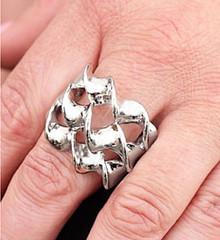 5th Avenue Silver Ring K2 P4141A-1