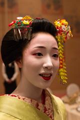 Maiko (Apprentice Geisha) (Winston Tan Photography) Tags: autumn fall japan dance kyoto performance sigma maiko geiko geisha kimono   apprenticegeisha canoneos70d canon70d sigma1835mmf18