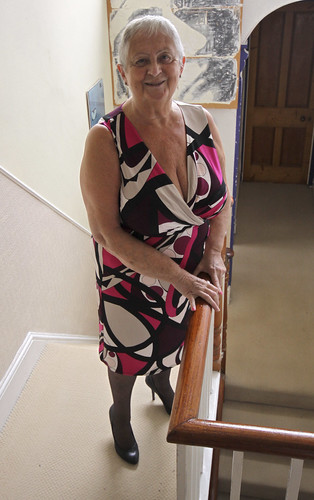 Frocks on the stairs 57/2.