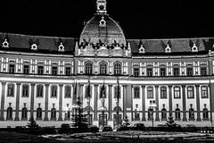City Hall (Fabian Rusu Photography) Tags: city longexposure blackandwhite night photography hall romania brasov primarie fabianrusuphotography