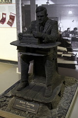 Alan Turing stacked slate sculpture (c10lmw) Tags: sculpture canon enigma worldwarii ww2 slate tamron alanturing bombe bletchleypark 2875mm codebreaking 1000d