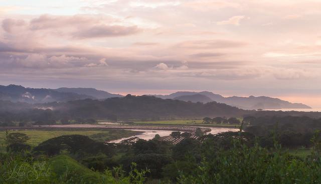 Farmland and rainforest, Costa Rica