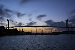Klippan - Blue Hour (Rudi Pauwels) Tags: göteborg evening nikon afternoon zoom sweden schweden gothenburg sverige nikkor afterdark 46 klippan älvborgsbron 18105mm d7100 nikkor18105mm götaälven gothiariver nikond7100