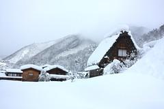 Takayama (fromourruins) Tags: winter snow japan snowing takayama shirakawago shirakawa