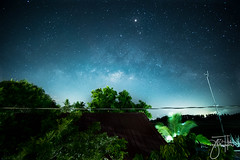 Milkyway (YocaMariano) Tags: sky night clouds stars landscape astro astrophotography planet fujifilm astronomy milkyway landscapephotography samyang fujifilmph xpph fujifilmxt1 samyang12mm xpphxgrid