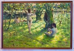 En Arcade by Alexander Harrison, 1886 (Serendigity) Tags: paris france art museum painting nude gallery musedorsay