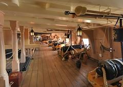 Gun deck (gillybooze) Tags: lamp ship navy nelson deck cannon portsmouth ropes ramrod powderhorn hmsvictory gunport navalhistory allrightsreserved