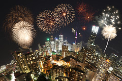 Victoria Day Fireworks on Toronto Planet (Katrin Ray) Tags: longexposure toronto ontario canada composite night canon eos rebel lights downtown colours cntower fireworks photomontage bluehour victoriaday torontodowntown canonphotography 750d victoriadayfireworks dreamscapesoftoronto katrinray fireworksatashbridgesbay t6i bluehourfireworks bluehourindowntown torontoplanet lastmondaybeforemay25 victoriadayfireworksontorontoplanet